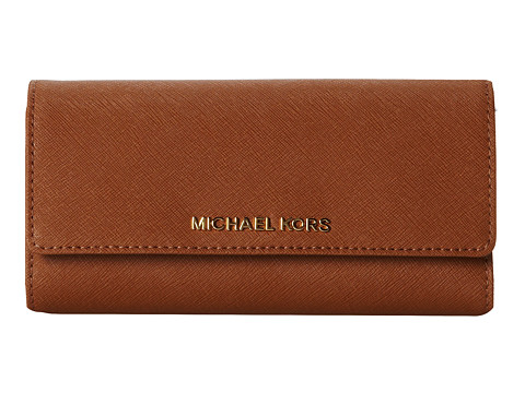 c962c00f35a6d9 ... Michael Kors Jet Set Travel Checkbook Wallet (Luggage) Wallet Handbags.  UPC 888235396965