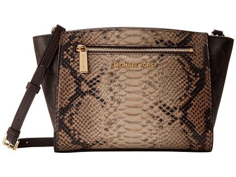 MICHAEL Michael Kors Sophie Medium Messenger (Sand) Cross Body Handbags
