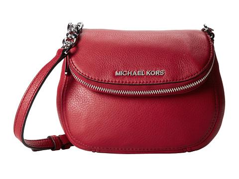 MICHAEL Michael Kors Bedford Flap Crossbody (Scarlet) Cross Body Handbags