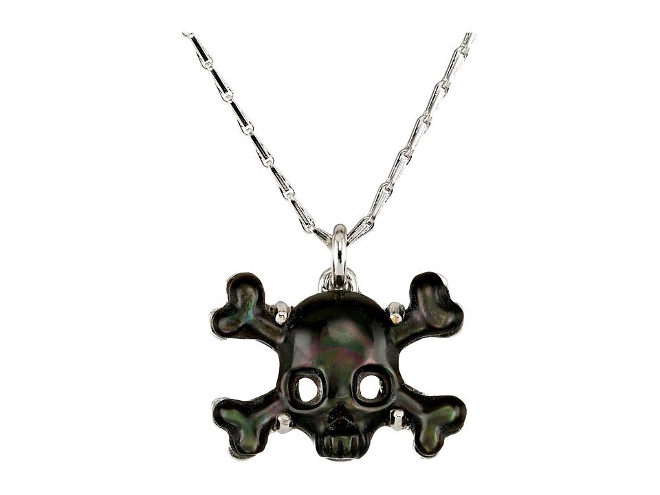 Vivienne Westwood - Phoenix Pendant (Rhodium/Grey Mop) Necklace