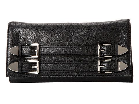 MICHAEL Michael Kors Robin Clutch (Black) Clutch Handbags