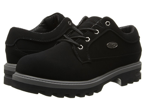 Lugz - Regiment Lo WR (Black/Charcoal) Men's Lace up casual Shoes