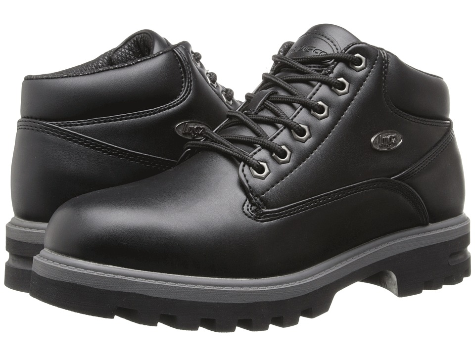 Lugz - Empire WR (Black/Charcoal) Men's Lace-up Boots