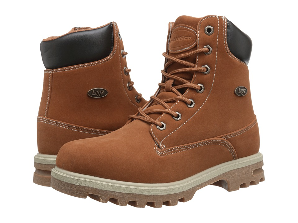 Lugz - Empire Hi WR (Rust/Bark/Cream/Gum) Men's Lace-up Boots