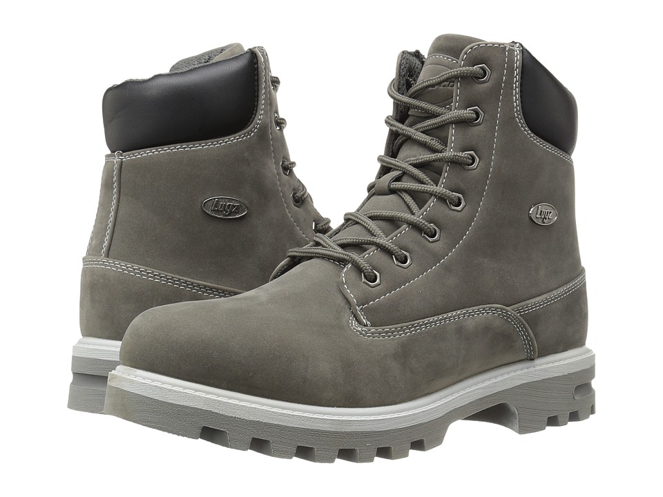Lugz - Empire Hi WR (Charcoal/Grey/Black) Men's Lace-up Boots