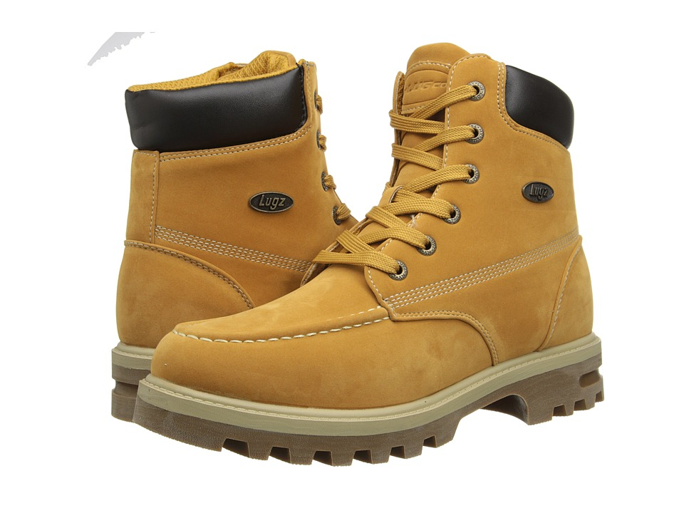 Lugz - Howitzer WR (Golden Wheat/Cream/Gum/Bark) Men's Lace-up Boots