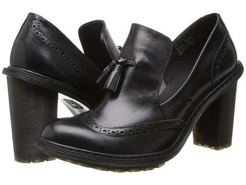 Dr. Martens - Jessyca Tassel Brogue (Black Buttero) High Heels