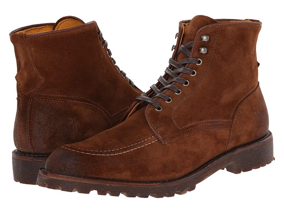 Frye Walter Country (Brown Suede) Men