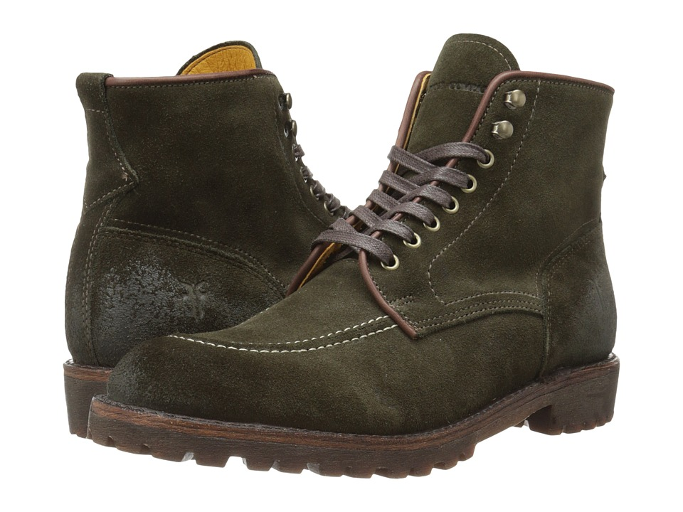 Frye - Walter Country (Fatigue Suede) Men's Lace-up Boots