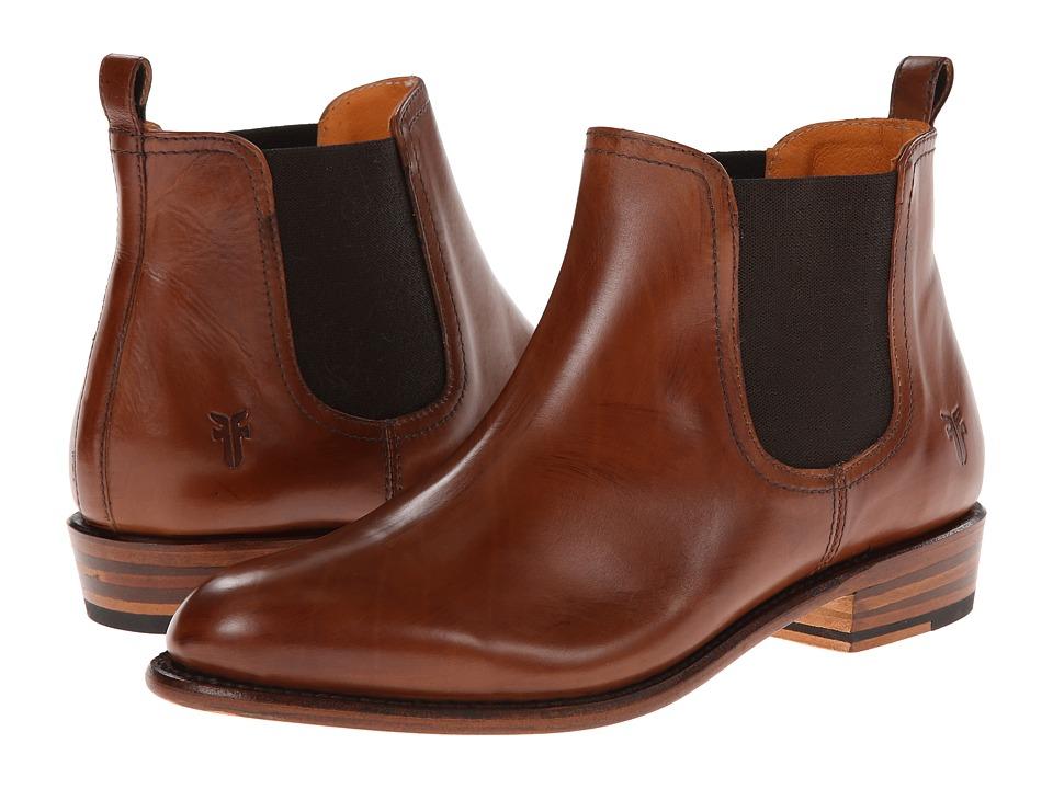 Frye Dorado Chelsea (Whiskey Smooth Polished Veg) Cowboy Boots