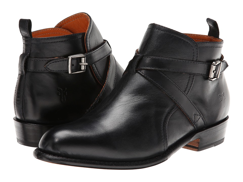 Frye Dorado Jodphur (Black Full Grain) Cowboy Boots