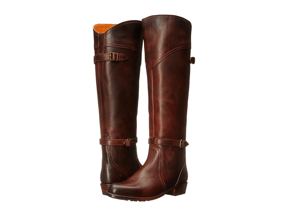 Frye - Dorado Lug Riding (Camel Antique Pull Up) Women's Pull-on Boots