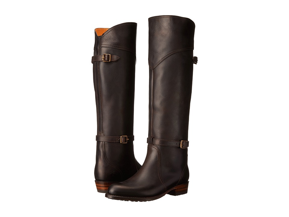 Frye - Dorado Lug Riding (Espresso Antique Pull Up) Women