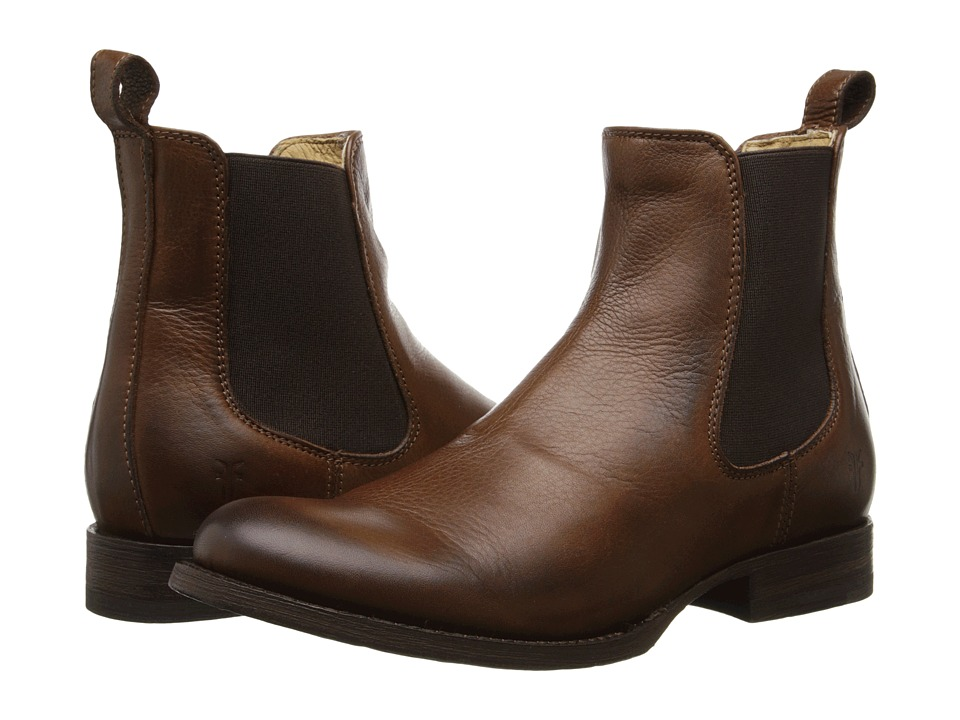Frye Erin Chelsea (Cognac Soft Vintage Leather) Women