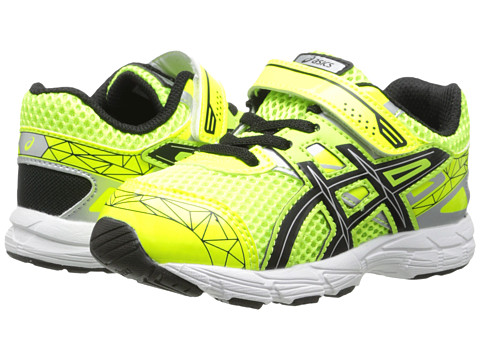 ASICS Kids - GT-1000 3 TS (Toddler) (Flash Yellow/Black/Lightning) Boys Shoes