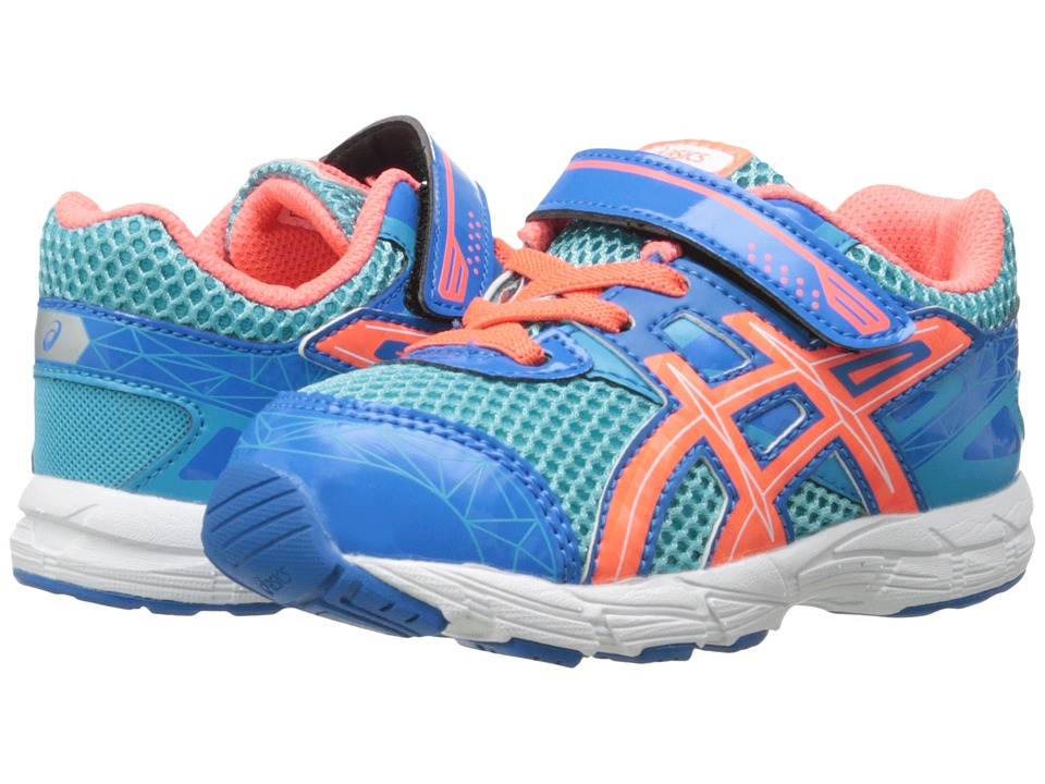 ASICS Kids - GT-1000 3 TS (Toddler) (Turquoise/Hot Coral/Blue) Girls Shoes