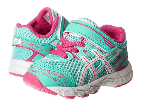 ASICS Kids - GT-1000 3 TS (Toddler) (Mint/White/Hot Pink) Girls Shoes