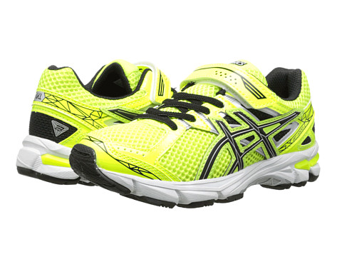 ASICS Kids - GT-1000 3 PS (Toddler/Little Kid) (Flash Yellow/Black/Lightning) Boys Shoes