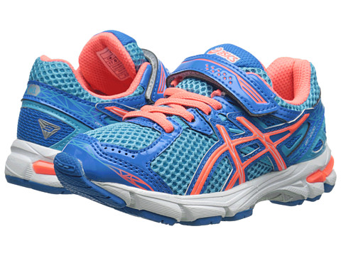 ASICS Kids - GT-1000 3 PS (Toddler/Little Kid) (Turquoise/Hot Coral/Blue) Girls Shoes