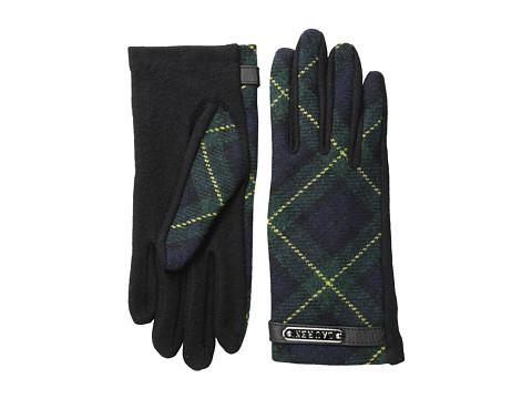 LAUREN by Ralph Lauren - Tartan Logo Plaque Glove (Blackwatch) Dress Gloves