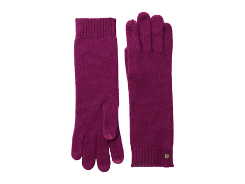LAUREN by Ralph Lauren - Cashmere Luxury Touch Glove (Dark Fuschia) Dress Gloves