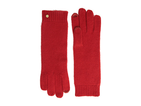LAUREN by Ralph Lauren - Cashmere Luxury Touch Glove (Port) Dress Gloves