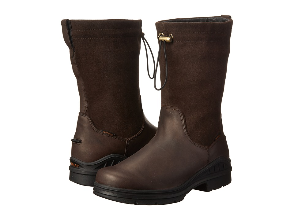Ariat - Barnyard Belle H20 (Dark Brown) Women's Boots