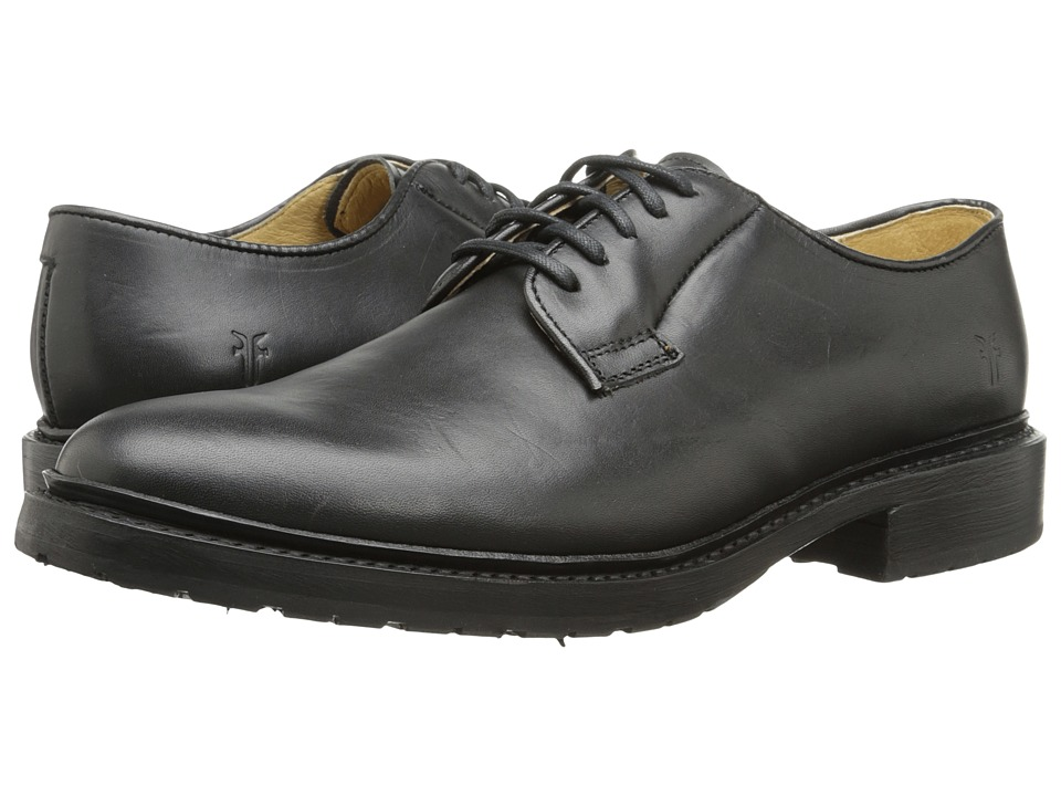 Frye - James Lug Oxford (Black Smooth Full Grain) Women's Lace up casual Shoes