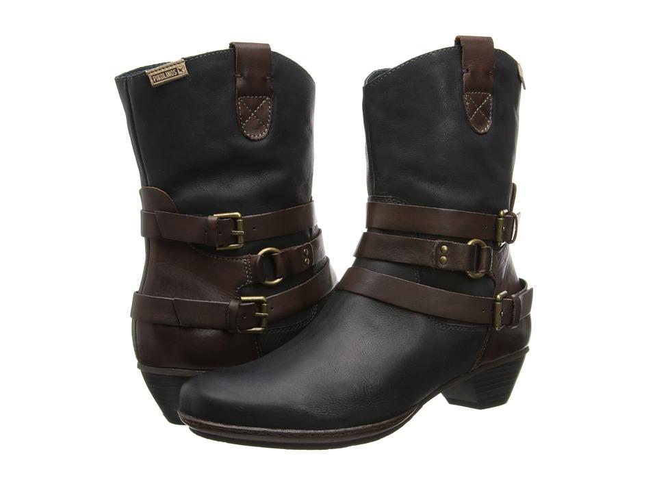Pikolinos - Brujas 801-7012F (Black) Women's Boots