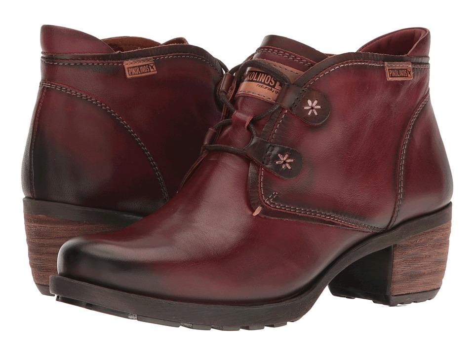 Pikolinos - Le Mans 838-8657 (Arcilla) Women's Lace-up Boots
