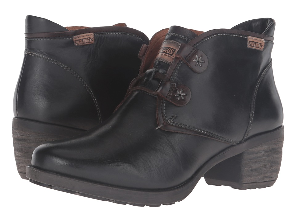 Pikolinos - Le Mans 838-8657 (Black) Women's Lace-up Boots