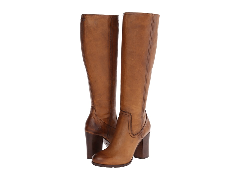 Frye - Parker Tall (Tan Antique Pull Up) Cowboy Boots