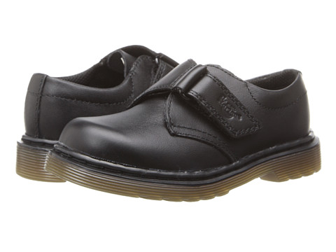 Dr. Martens Kid's Collection - Sammy Strap Shoe (Toddler) (Black Softy T) Kids Shoes