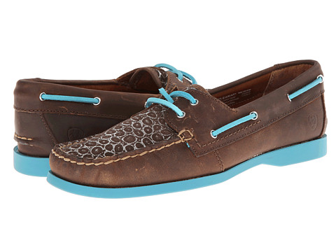 Ariat - Palisade (Distressed Brown/Aqua) Women's Shoes