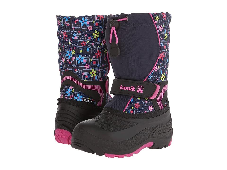 Kamik Kids - Snowbank 2 (Toddler/Little Kid/Big Kid) (Navy) Girls Shoes