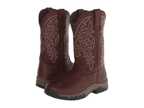 Ariat - Western Terrain H20 (Brown Oiled Rowdy) Cowboy Boots