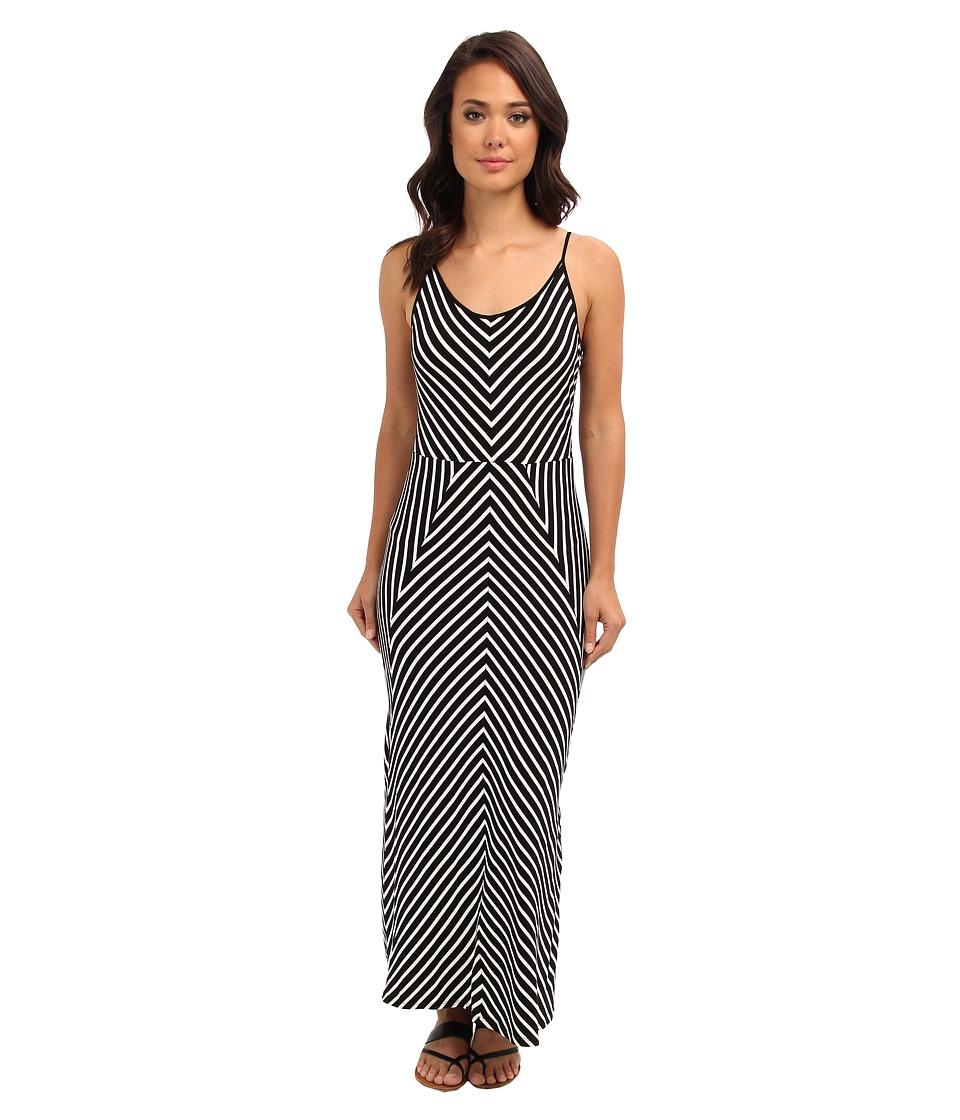 Brigitte Bailey - Sasha Maxi Dress (Black/White) Women