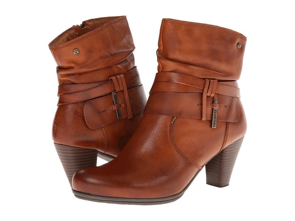 Pikolinos - Verona 829-9834 (Cognac) Women's Zip Boots