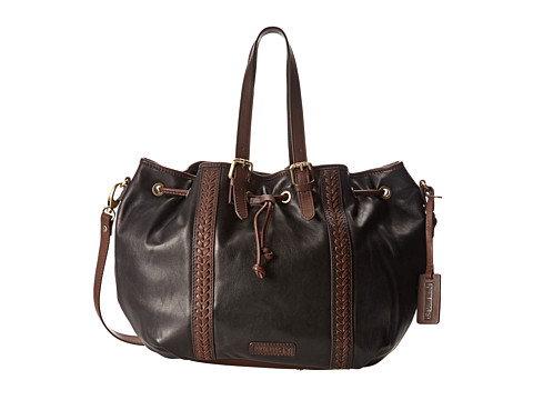 Pikolinos - BBB-992 (Black/Olmo) Shoulder Handbags