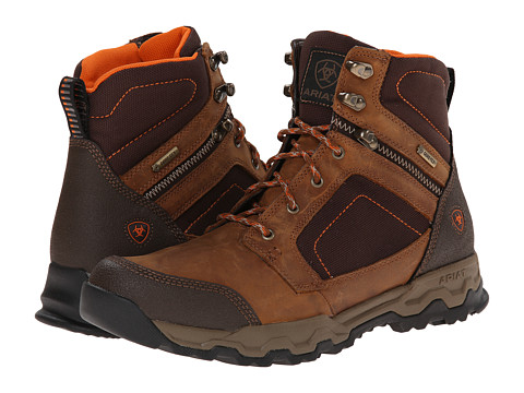 Ariat - Grand Junction 6 GTX (Frontier Brown) Men's Work Boots