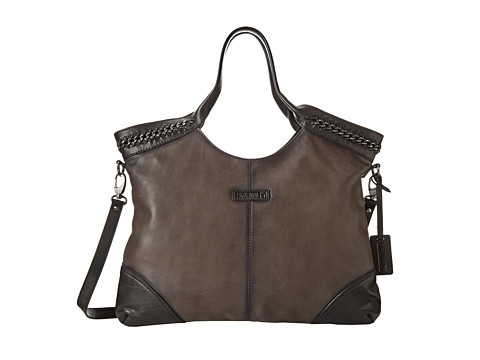 Pikolinos - BBB-998 (Lead/Black) Shoulder Handbags
