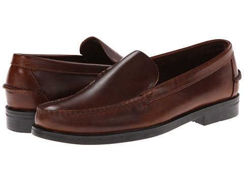 Sebago - Grant Venetian (Brown Oiled Waxy) Men's Shoes