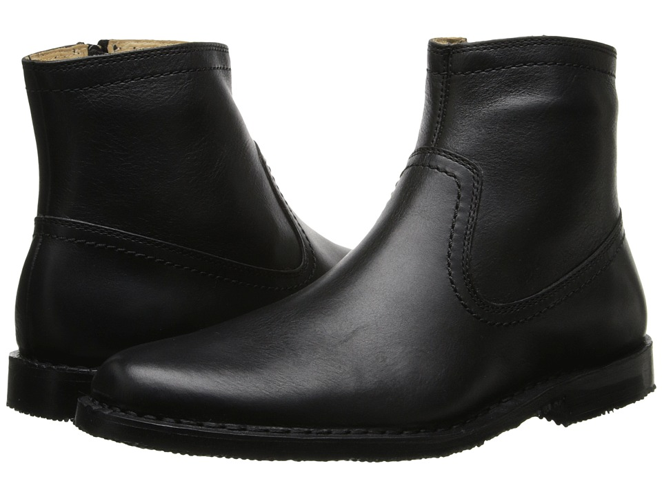 Sebago - Metro Zip Boot (Black Leather) Men