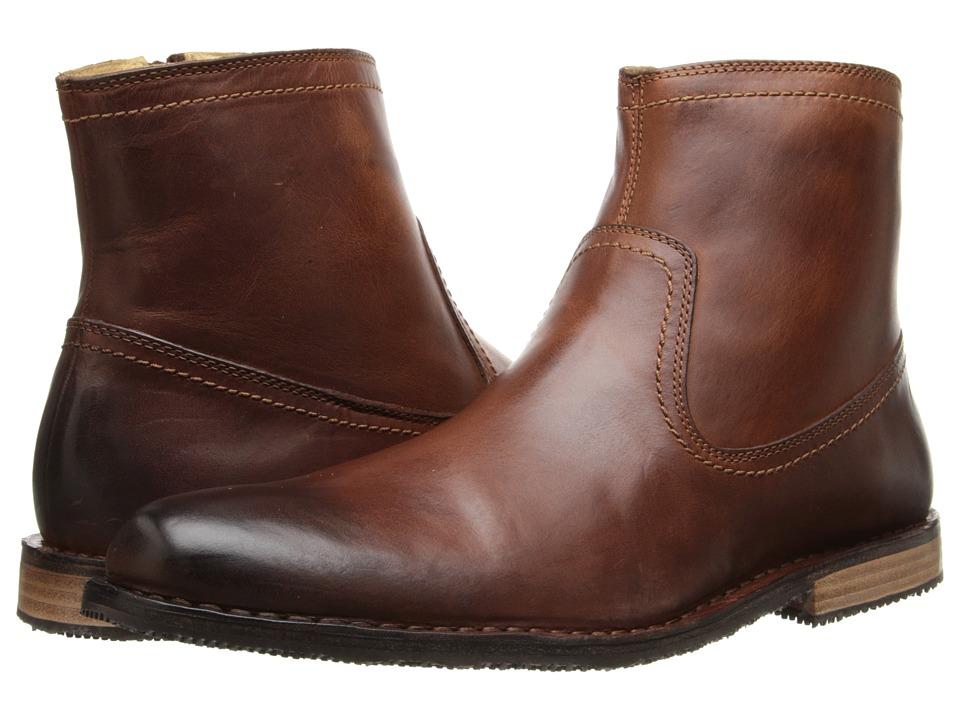 Sebago - Metro Zip Boot (Light Brown Leather) Men's Boots