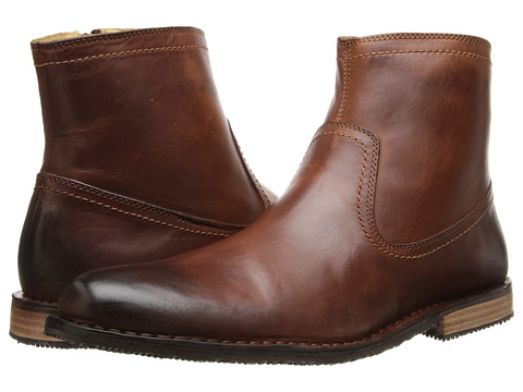 Sebago - Metro Zip Boot (Light Brown Leather) Men's Boots