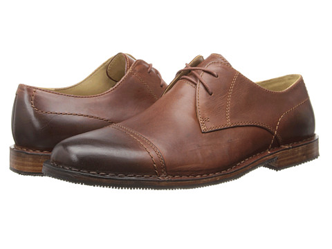 Sebago - Metro Cap Toe (Light Brown Leather) Men