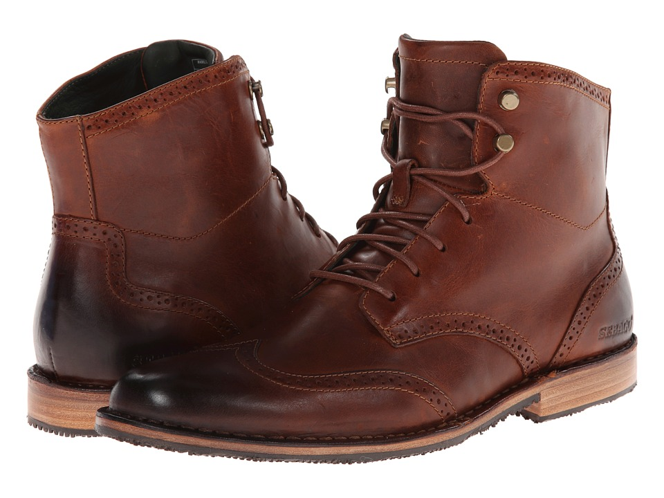 Sebago - Hamilton (Light Brown Leather) Men's Lace-up Boots