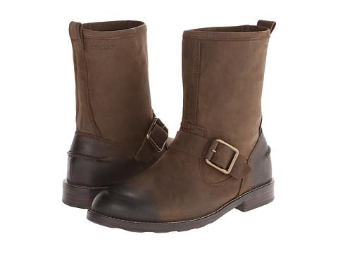 Sebago - Coburn Harness (Dark Brown Leather) Men's Shoes