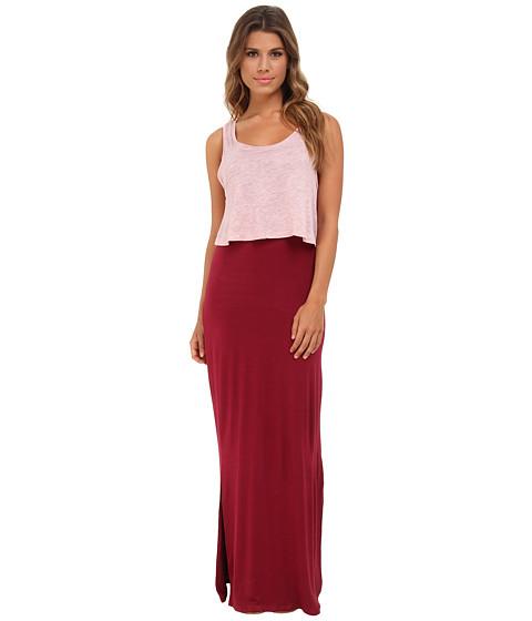 Gabriella Rocha - Leah Maxi Dress (Bold Sangria Combo) Women's Dress