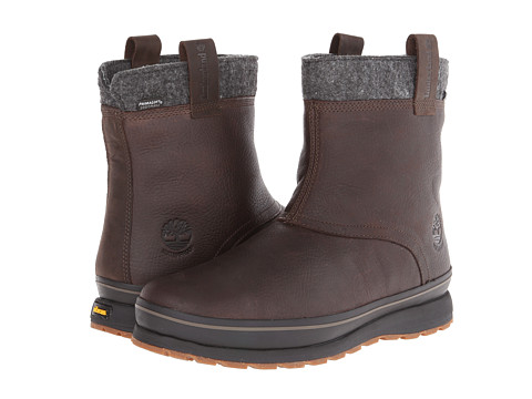 Timberland Mens Shoes / Dark Brown Shoes Timberland Schazzberg Pull-On Boots YF66U1c